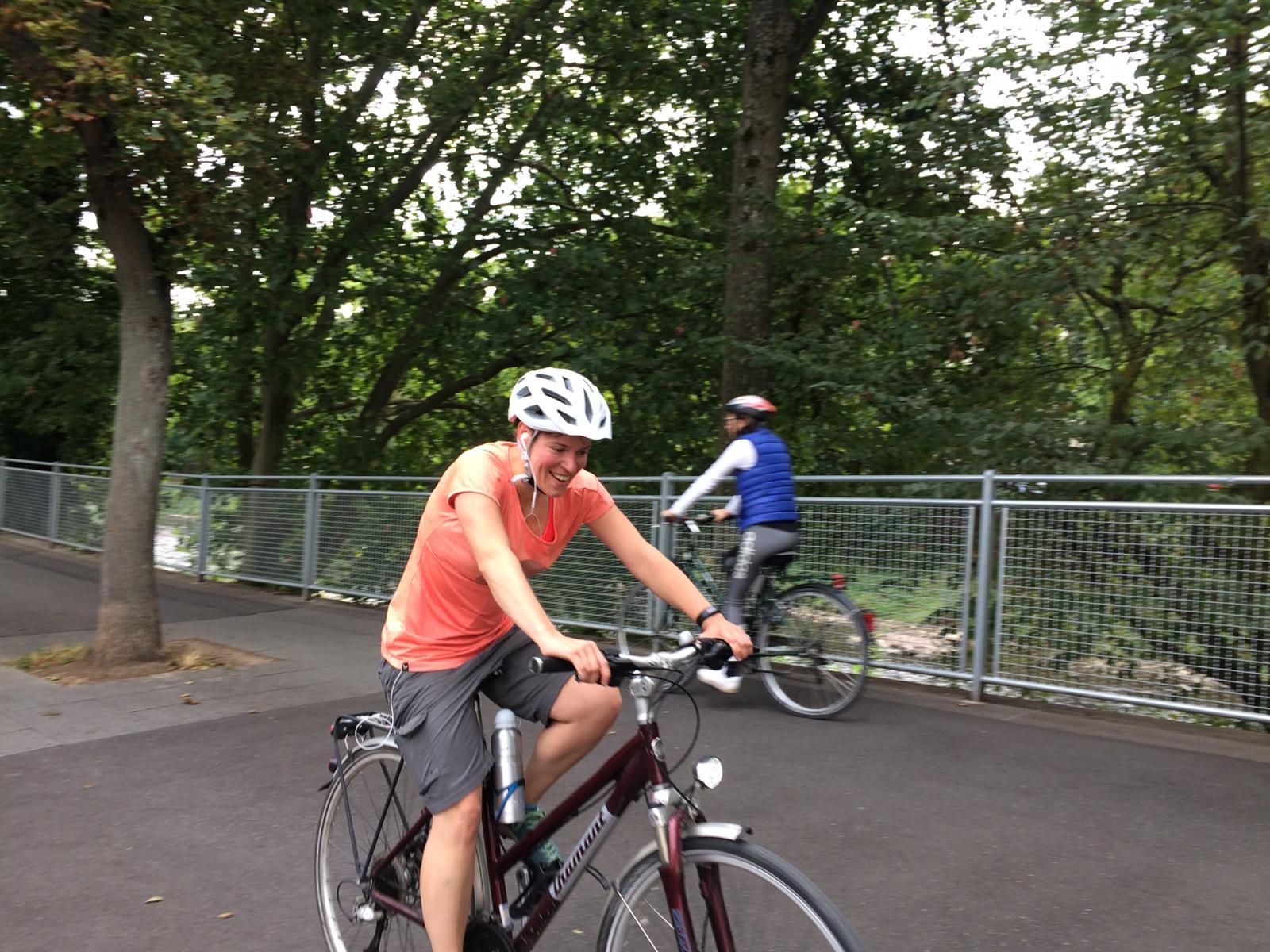 KiKu still goes olympia - Fahrrad fahren